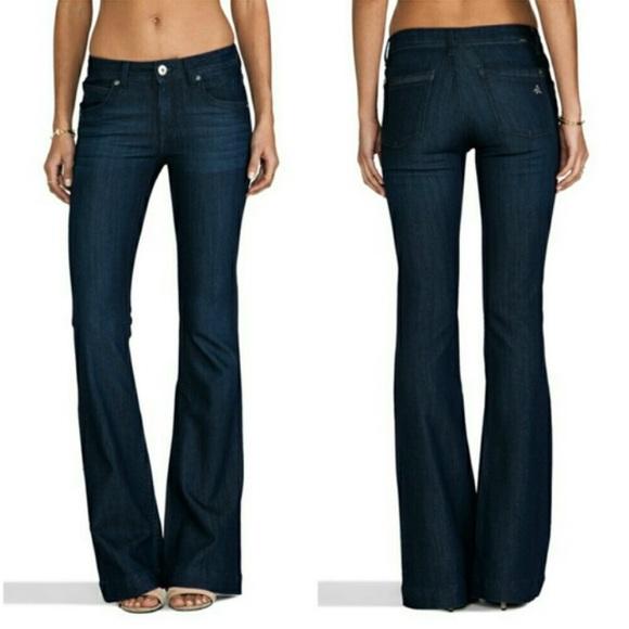 75d0e6d7f6641 DL1961 Denim   Joy Super High Rise Flare Jeans In Dazed   Poshmark